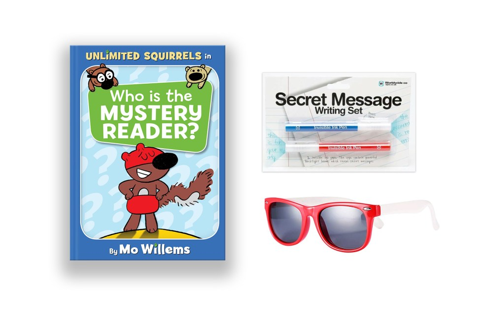 Mystery Reader Giveaway pack