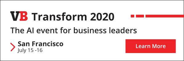 VB TRansform 2020: Die KI-Veranstaltung für Führungskräfte. San Francisco 15. - 16. Juli