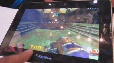 RIM BlackBerry PlayBook demo