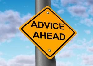 Advice Ahead