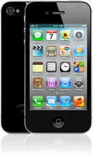 iPhone 4S in black