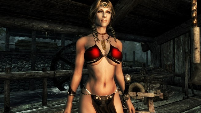 Slave Leia and Star Wars mods for Skyrim