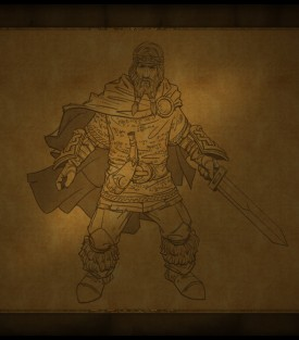 King's Bounty Warriors of the North, Pre-Mortem, concept art