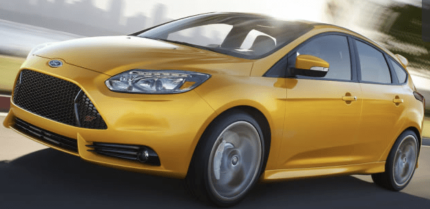 "The 2013 Focus ST has an ""overclocked"" turbocharger that gives it 15 extra seconds of boost power"