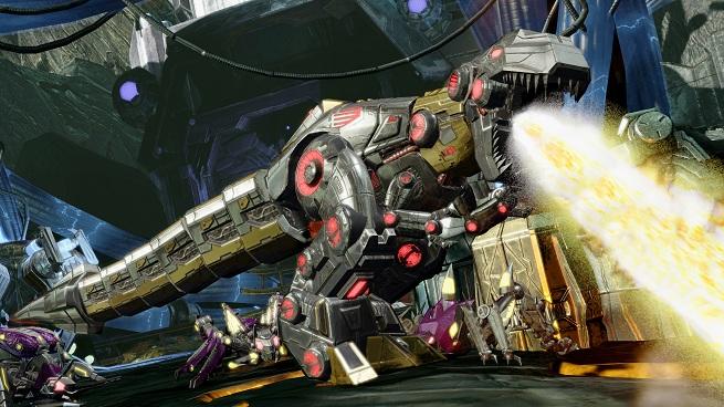 Transformers FOC - Grimlock breathing fire