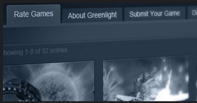 Valve's Steam Greenlight