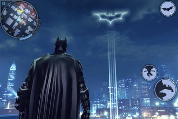 The Dark Knight Rises bat signal