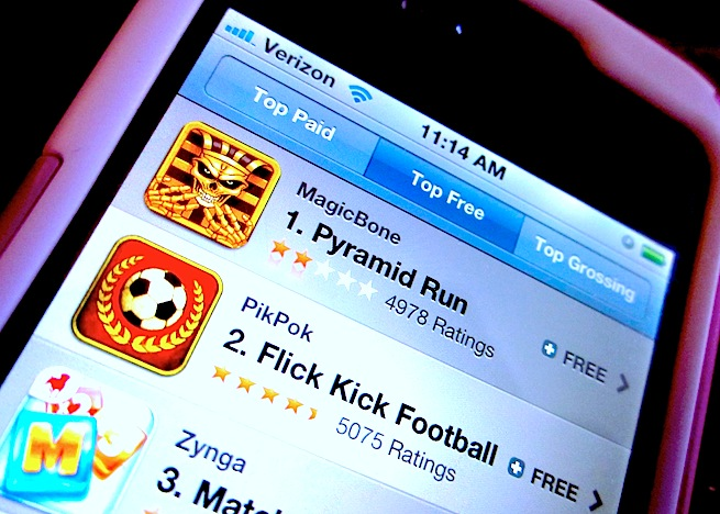 Top free apps iOS 6