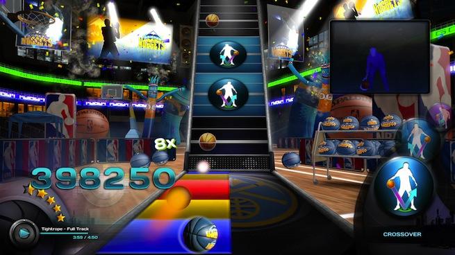 NBA Baller Beats Nuggets court screen