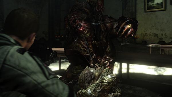Resident Evil 6 J'avo cocoon