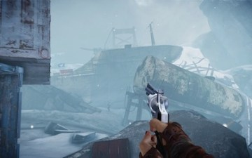 Ravaged Icebreaker map