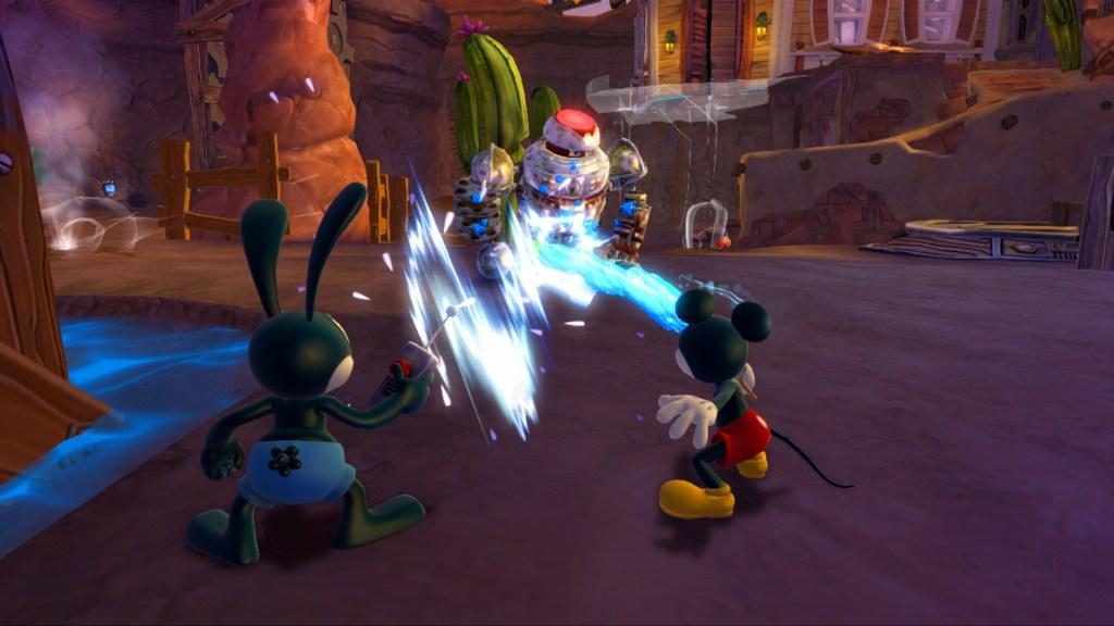 Epic Mickey 2 - Disney Gulch Battle