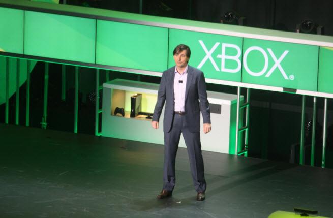 The Xbox 360 press conference at E3