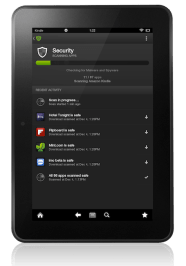 Lookout Mobile Kindle security