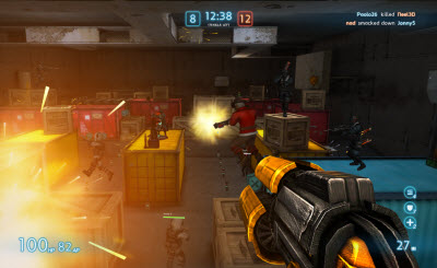 Cmune raises funding for first person shooters on mobile and     cmune uberstrike 3