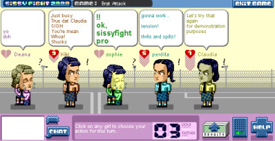 sissyfight game screen 2