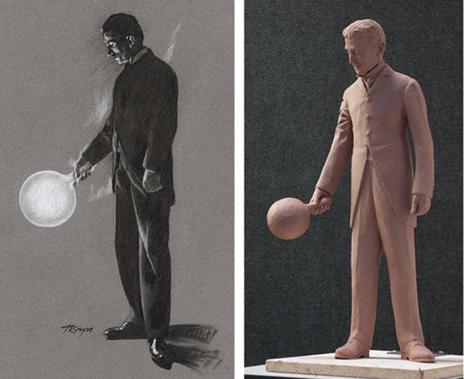 tesla-statue