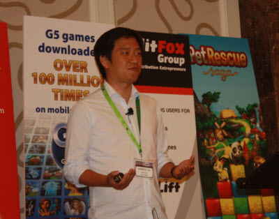 Kyu Lee of Gamevil