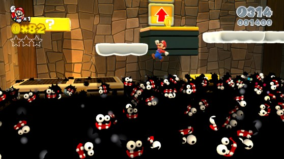 The game even has a few interesting callbacks to games like Paper Mario and Mario Kart.