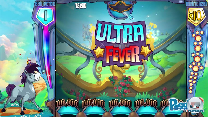 The Ultra Fever in Peggle 2 is more exciting than ever.