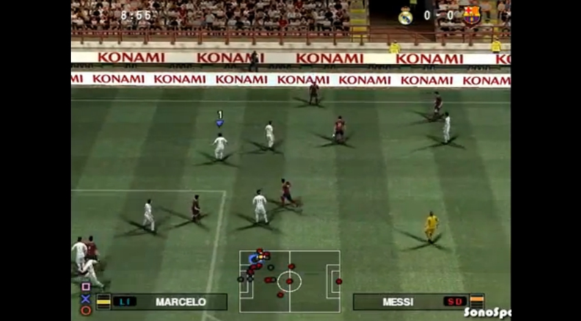 Some gameplay footage from the PlayStation 2