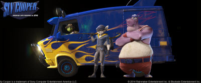 Sly Cooper movie characters.
