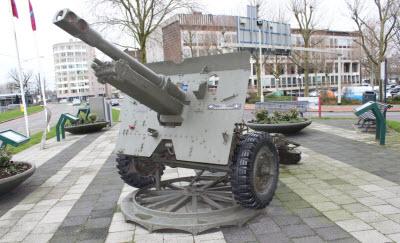 World War II monument in Arnhem, Netherlands.