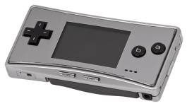 The Game Boy Micro.
