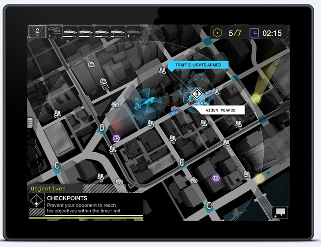 The Watch Dogs app puts you in charge of the police chase.