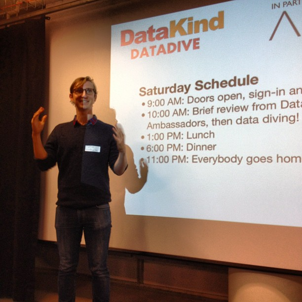 Jake Porway, founder and executive director of DataKind.