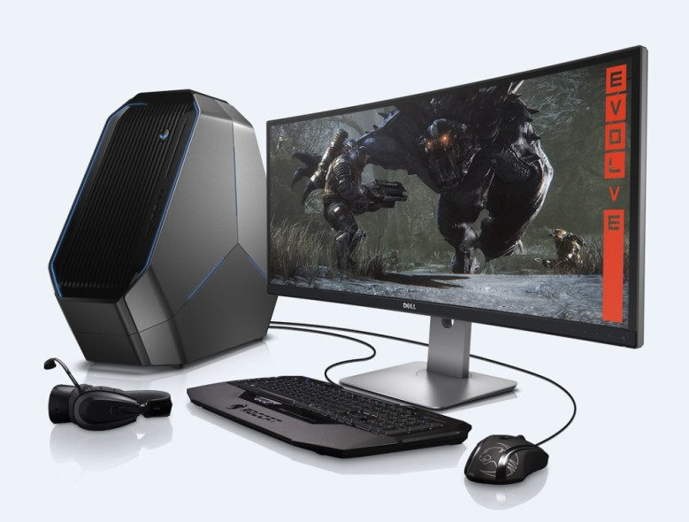 Alienware shows off its new Area-51 gaming desktop | GamesBeat | Games | by Dean Takahashi