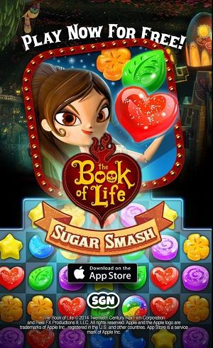 The Book of Life: Sugar Smash