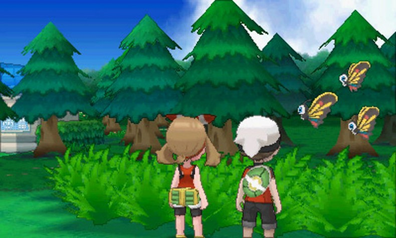 You can now track specific Pokémon in the region via Omega Ruby's and Alpha Sapphire's updated Pokédex.