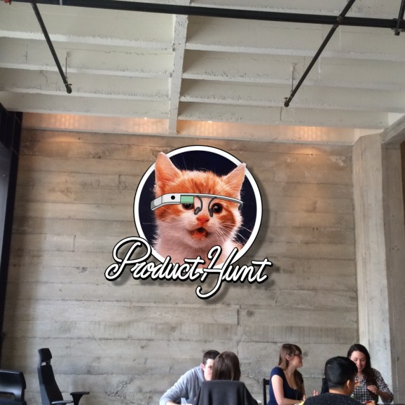 Product Hunt headquarters in San Francisco.