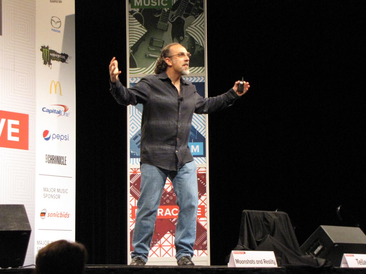 Google X head Astro Teller at SXSW 2015.