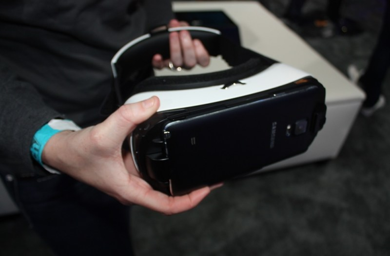 Samsung Gear VR with Oculus tech