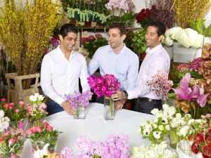 BloomNation co-founders David Daneshgar, Gregg Weisstein, and Farbod Shoraka.