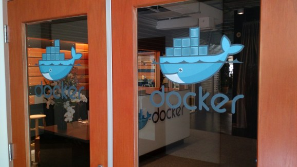 At Docker headquarters in San Francisco on March 18, 2015.