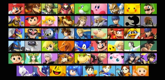 Image result for every smash fighter