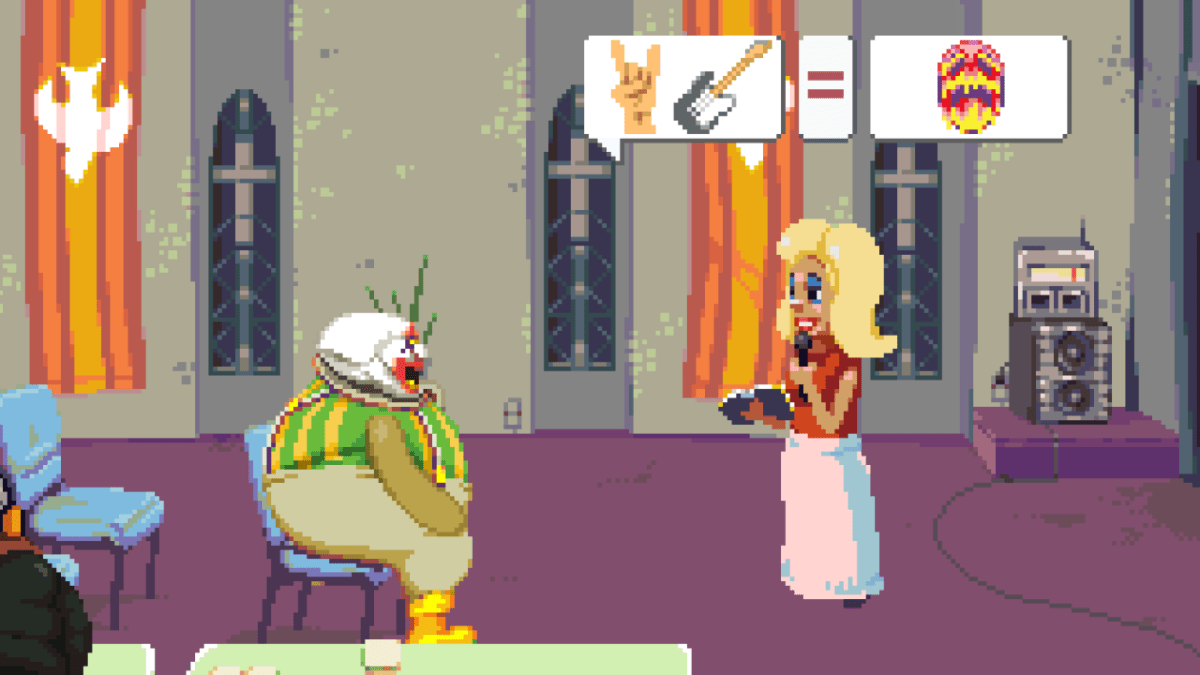"""All of Dropsy's optional objectives are called """"hug puzzles."""""""