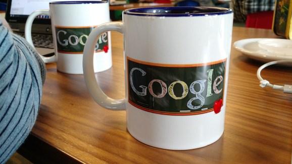 Google Classroom mugs.