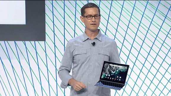 The Google Pixel C tablet.