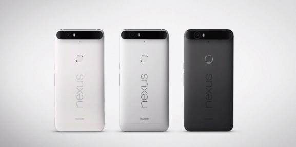 The Huawei Nexus 6P.