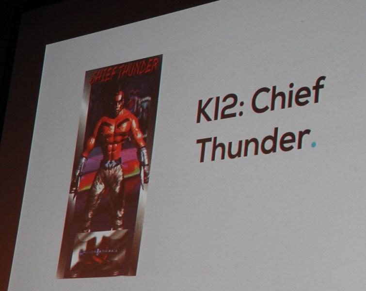 Chief Thunder from Killer Instinct 2.