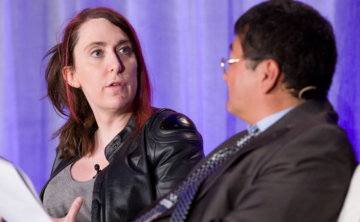 Brianna Wu has received 180 death threats over the past year because of GamerGate.