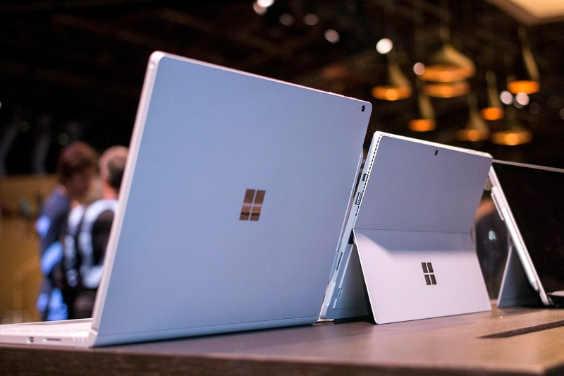 Microsoft Surface Book and Surface Pro 4