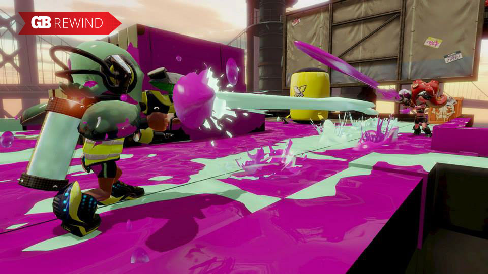 Splatoon was a big surprise for 2015 -- especially for being a Nintendo game with good online.