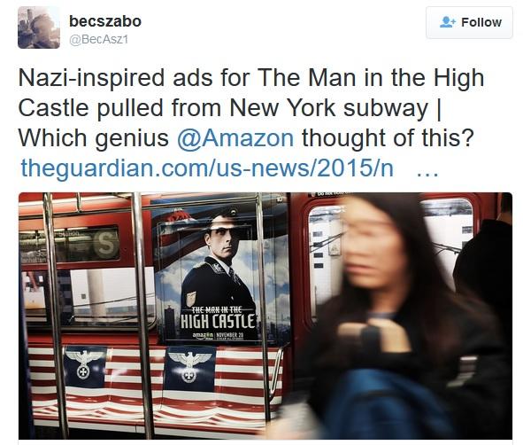 Amazon nazi ad