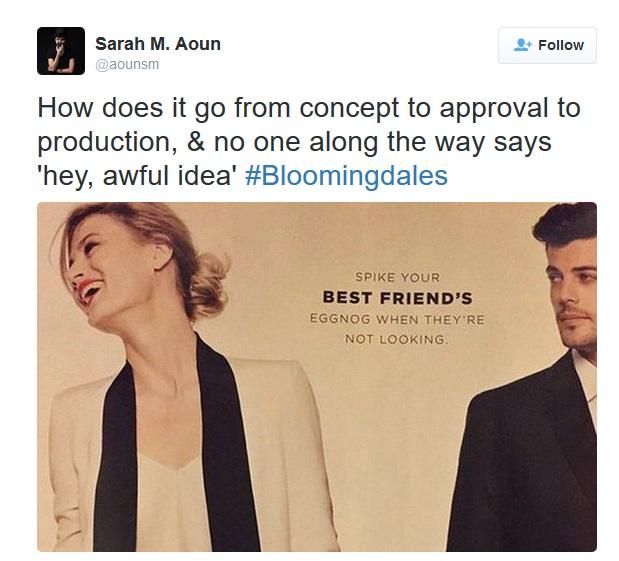 Bloomingdales ad