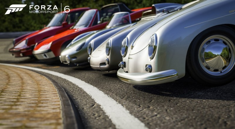 The Porsche expansion offers 20 new cars for Forza Motorsport 6.